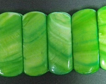 Green Stretchable Bracelet