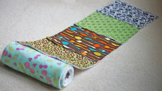 Mixed Surprise Prints - Eco Friendly Reusable Snapping UnPaper Towels - Cotton and Terry Cloth - With or Without Snaps
