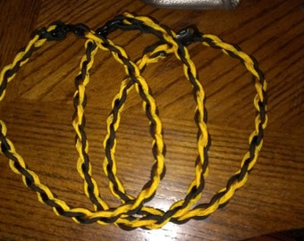 Paracord braid sports necklace