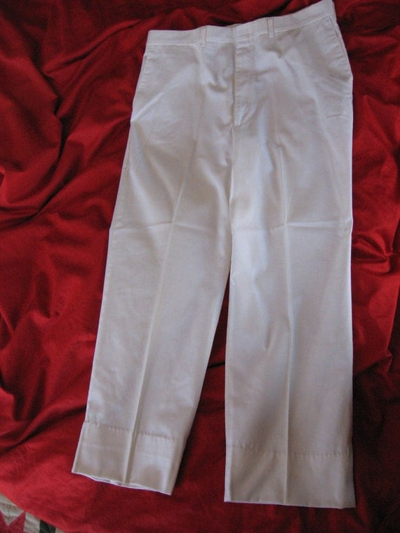 White Duck Mens Pants Slacks Size 38 Reed St James