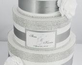 Card box / Wedding Box / Wedding money box - 3 tier - Personalized