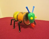 Cootie Bug Assemblage Art