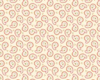 Calliope Paisley in Pink  from RIley Blake Fabrics 1 Yard Cut
