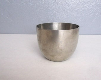 Vintage Pewter Jefferson Cup