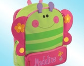 Backpack - Personalized and Embroidered - Sidekick Backpack - BUTTERFLY