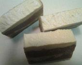 Peaches and Cream Cold Process Silk Soap