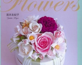Soft CLAY FLOWERS by Yukiko Miyai - Japanese Craft Book (In Chinese)