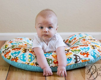Organic Nursing Pillow Cover, Baby You Can Drive My Car, Boppy Cover, Nursing Pillow Cover, Cars