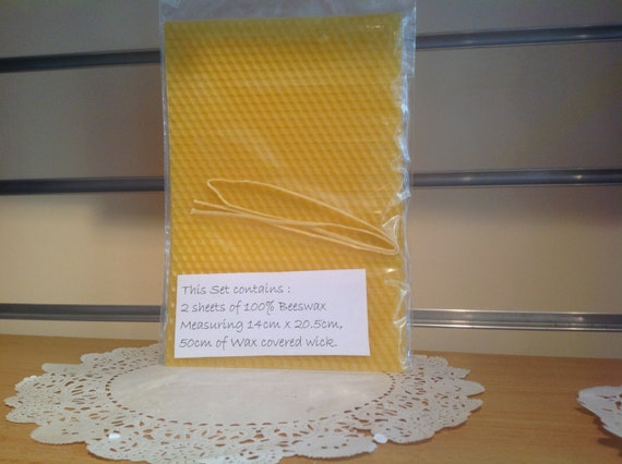 beeswax candle making instructions