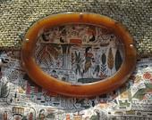 Vintage Tapestry Bakelite Purse