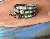 Triple Wrap Southwestern Bracelet