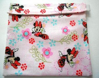Minnie Mouse Reusable Sandwich Bag