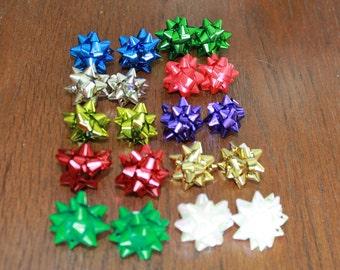 Present Bow Earrings