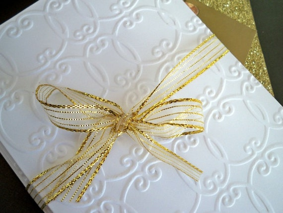 Bridal Shower Thank You Cards - Elegant Embossed Wedding Note Cards ...