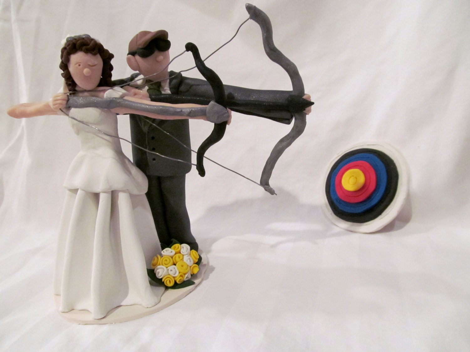Bow And Arrow Cake Topper