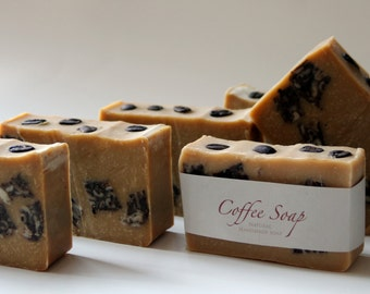Handmade Coffee Soap - Vegan Soap - Wholesale Soap