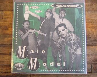 """Boris The Sprinkler - Male Model 7"""" Vinyl EP Record (Bulge Records, 1994)"""