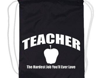 Drawstring Backpack / Teacher
