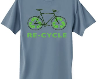 Mens T-shirt / Re Cycle
