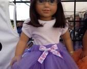 American Girl Doll Tutu Purple Tutu