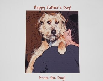 Adopted Dog Father's Day