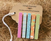 "Clothespins, Magnet Clips, Standard Size 3"",  Set of 5"