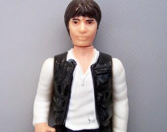 Vintage Star Wars Soft Rubber Legs Han Solo Complete C85 RARE