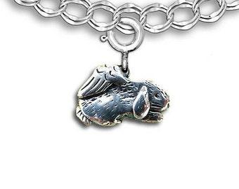 SS Sleeping Rabbit Angel Charm