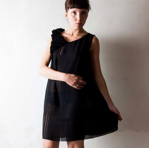 little black dresses - bohemian style dresses - black dresses
