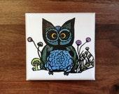 """Mini Canvas 4x4 - """"OWLivia"""""""