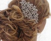1920's Wedding headpiece Bridal hair comb Wedding hair accessories Bridal jewelry Wedding hair comb Bridal accessories Wedding hair jewelry