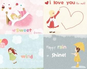 Lil' Cloud - Cute Girly 2013 Calendar