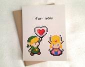 A Piece of My Heart, Zelda Love Card