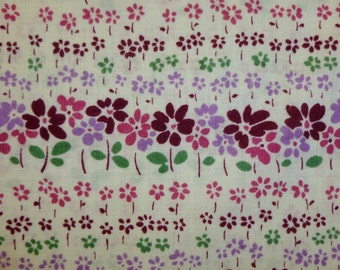 Floral Stripe from Yuwa of Japan