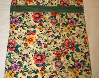 One Flower Travel Cloth Bag