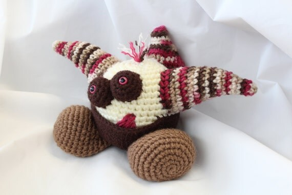 Amigurumi Crochet Pattern Spike the Gumball Dragon