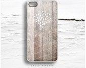 iPhone 6S Case, iPhone 6S Plus Case Wood Print, Tough iPhone 5s Case Floral, Tribal iPhone 6 Case, Rustic iPhone Case, Wood iPhone Cover T71