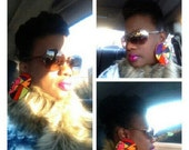 Large Mosaic Earrings