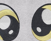 MLPFIM Embroidered Derpy Eyes