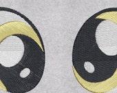 MLPFIM Embroidered Derpy Eyes