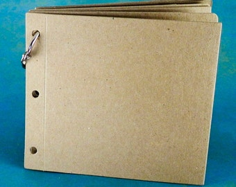 4X4 Die Cut Album - 8 pieces - Chipboard Die Cut Shape