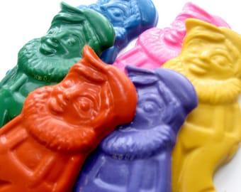 Jumbo Gnome Crayons -Set of 3