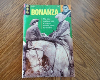 Gold Key Bonanza No. 37 Last Issue with Photo Cover