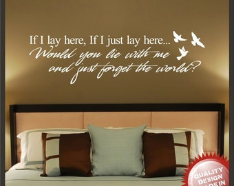 Snow patrol vinyl wall decal sticker