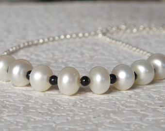 bridial jewelry,wedding necklace,Freshwater Pearl Necklace