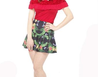Summer Flowers Custom Made Skirt