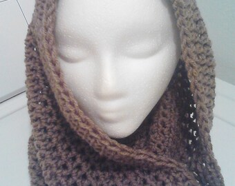 Crochet Head Cowl Covering
