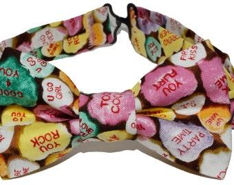 Bow Tie - Valentine's Heart Candies Bowtie