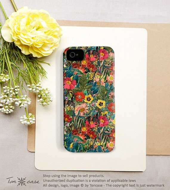 Flower iPhone 5 case Flower iPhone 4 case iPhone 4s case floral iphone 4 case floral iphone 5 case tropical iphone 5 case /164