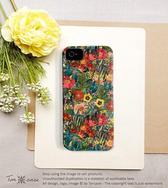 Flower iPhone 5 case Flower iPhone 4 case iPhone 4s case floral iphone 4 case floral iphone 5 case tropical iphone 5 case /164